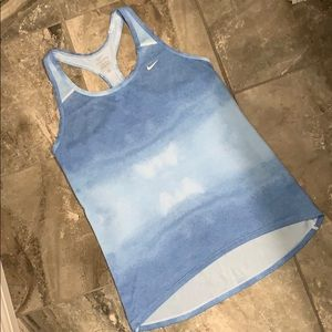 Nike dry fit racer back tank